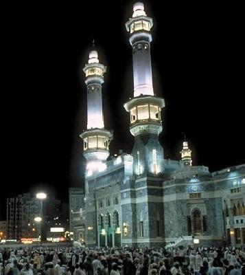 mecque lieux de prières