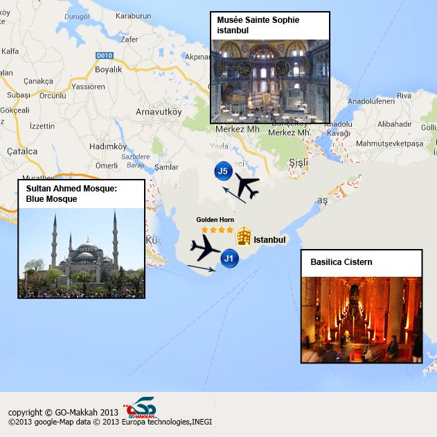 Week-end Istanbul, rservez un week-end pas cher en Turquie